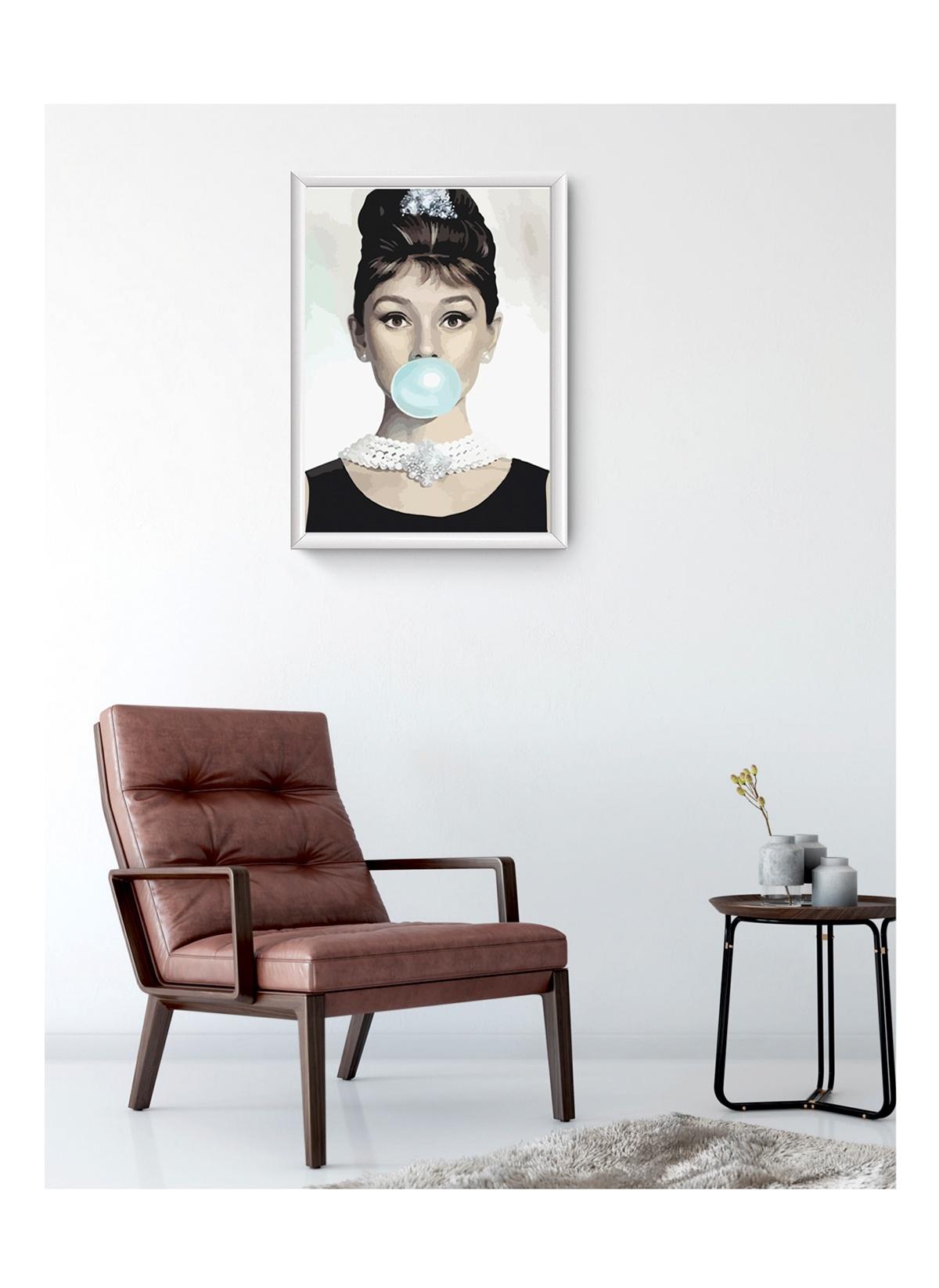 Standart Lyn Home & Decor Audrey Balon Çerçeveli Poster Tablo 33.5X43,5